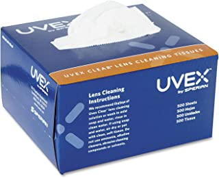 Honeywell S462 Uvex Clear Lens Cleaning Tissues 500 Sheets