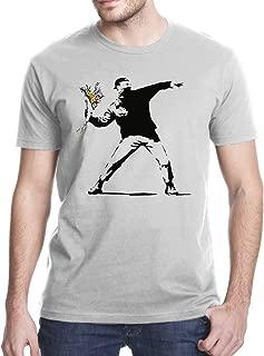 Gbond Apparel Banksy Flower Thrower T-Shirt