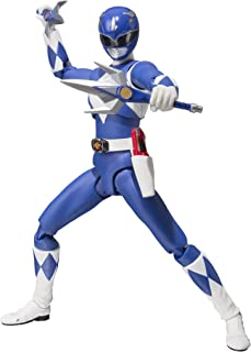 Bandai Tamashii Nations S.H. Figuarts Mighty Morphin Blue Ranger Mighty Morhin Power Rangers Action Figure