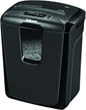 "Fellowes Powershred 49C 8-Sheet Cross-Cut Paper and Credit Card Shredder (4605801), Black, 15.4"" x 13.4"" x 9.7"""