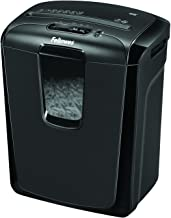 Fellowes Powershred 49C 8-Sheet Cross-Cut Paper and Credit Card Shredder (4605801), Black
