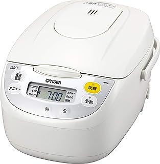 タイガー魔法瓶(TIGER) 炊飯器 合炊き マイコン エコ炊き 調理メニュー付き 5.5L ホワイト JBH-G101W
