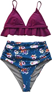 aaabba0143d Amazon.com  Purples - Swimsuits   Cover Ups   Clothing  Clothing ...