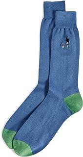 Men's Embroidered Dog Walker Socks
