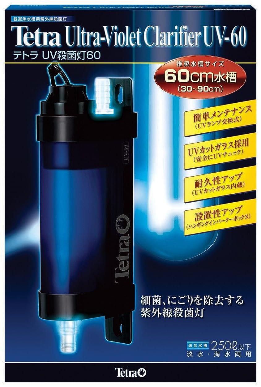 ハムロードされたスクリーチテトラ (Tetra) UV殺菌灯60