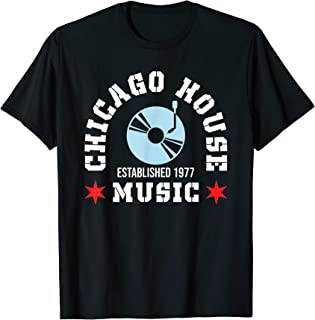 Chicago House Music EDM 1977 T-Shirt