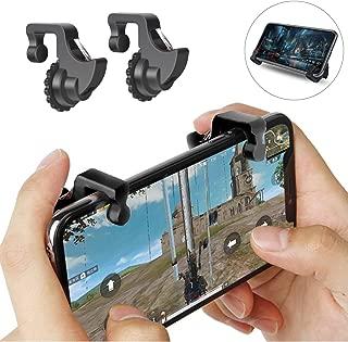 mStick pubg Gaming Joystick for Smart Phones/Trigger for Mobile Controller/Fire Button Assist Tool (Black)