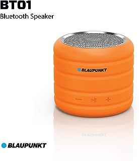 Blaupunkt BT-01 3W Portable Bluetooth Speaker (Orange)
