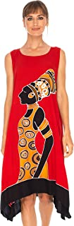 SHU-SHI Womens Poncho Dress Short Beach Cover Up Plus Size Swing Dress