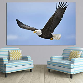 Cuadros en lienzo, carteles e impresiones de animales, águila, decoración escandinava para sala de estar, águila, pintura,...