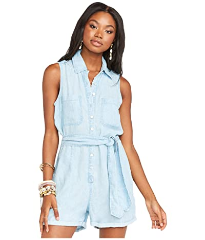 Show Me Your Mumu Rylie Romper (Shore Chambray) Women