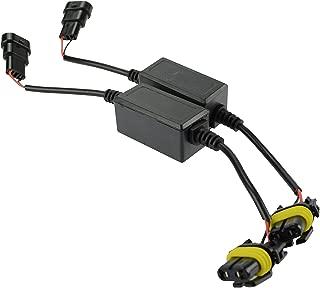 FMS H4 9003 HB2 Car LED Headlight Bulb Canbus Error Free LED Decoder Kits Error Load Resistor Plug /& Play Computer Warning Canceller and Anti Flicker