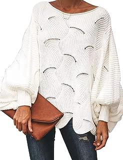 Best scallop hem sweater Reviews