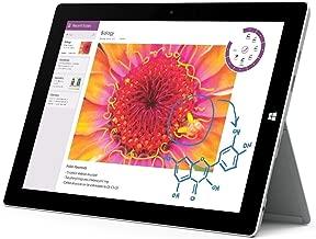 Microsoft Surface 3 64GB Intel Atom x7-Z8700 X4 1.6GHz 10.8in, Silver (Renewed)