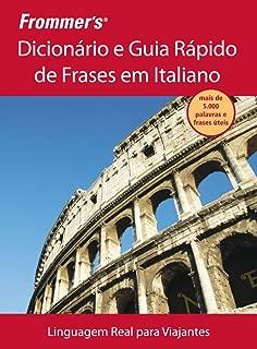 Frommer´s. Dicionário E Guia Rápido De Frases Em Italiano (Em Portuguese do Brasil)