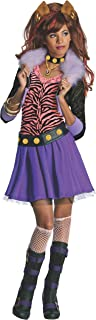 Monster High - Disfraz de Clawdeen Wolf para niña, infantil 5-7 años (Rubie's 884788-M)