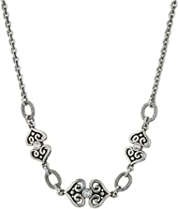 Alcazar Heart Long Necklace