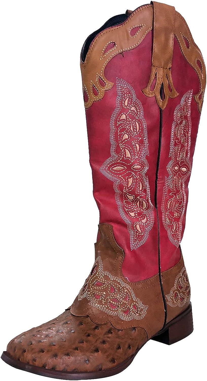 TAONEEF Vintage TAONEEF Women's Western Boots Mid Calf