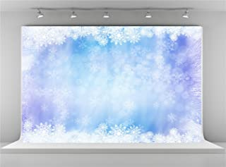 Kate 7x5ft-2.2x1.5m Microfiber Material Bokeh Winter Photography Backdrops Snowflake Background for Baby Photo Shooting