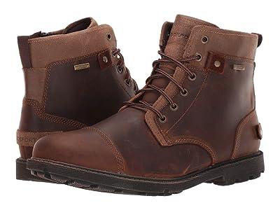 Rockport Waterproof Rugged Bucks II CT Boot (Boston Tan) Men