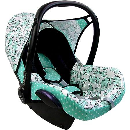 Bambiniwelt Ersatzbezug Für Maxi Cosi Cabriofix 6 Tlg Minky Mb 8 Bezug Für Babyschale Komplett Set Xx Baby