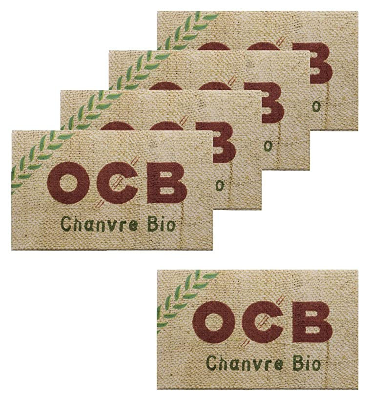 サーキットに行く列挙する幹柘製作所(tsuge) OCB オーガニック ダブル 【スローバーニング ? 100枚入り】 #78883 ×5パック