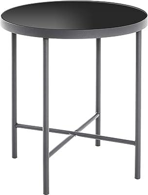 Haku Möbel Table d'appoint, Tube d'acier, Ø: 40 x 47 cm