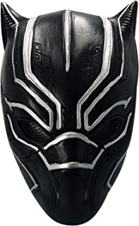 Black Panther mask Face Helmet Decoration Theme Party Props Halloween Costume Accessory Adult Mask Latex mask