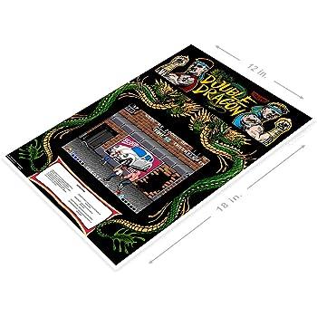 Amazon Com Posterglobe Poster A336 Double Dragon Arcade Game Room