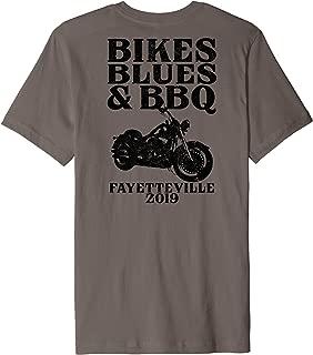 Ozarks Bikes Blues BBQ Biker Motorcycle Event Arkansas 2019 Premium T-Shirt