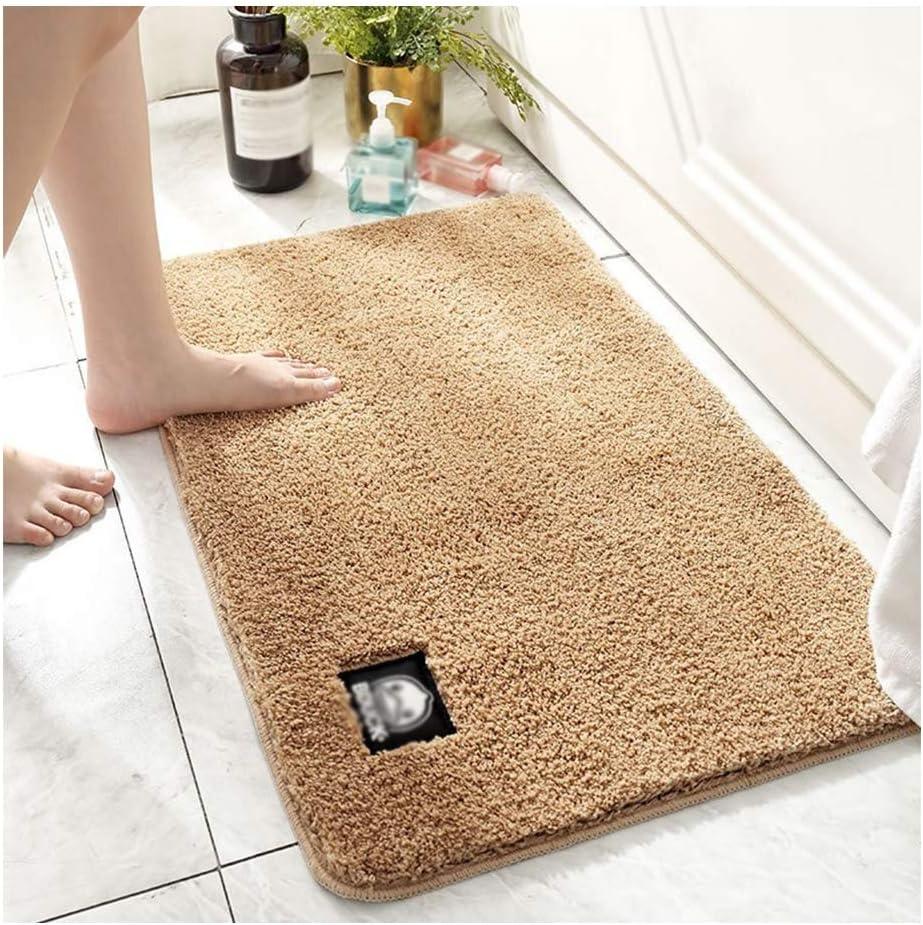 GHHZZQ Bathtub Mat Absorbent Non-Slip Quick Drying Superfine Fib