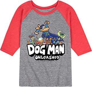 Dog Man Everyone - Youth Raglan