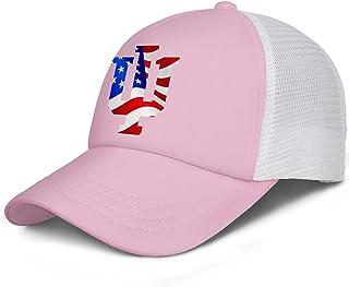 YkRpJ Baseball Cap Adjustable Cool Fitted Hat for Women Men
