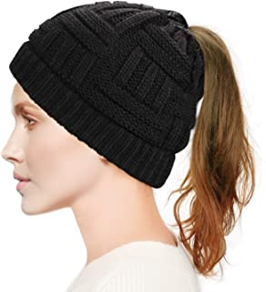black winter hat womens