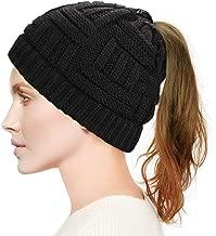 ponytail ski hat