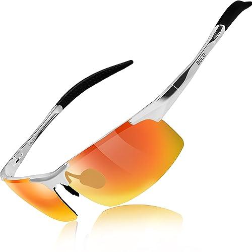 08c82984480 Duco Men s Driving Sunglasses Polarized Glasses Sports Eyewear Fishing Golf  Goggles 8177S