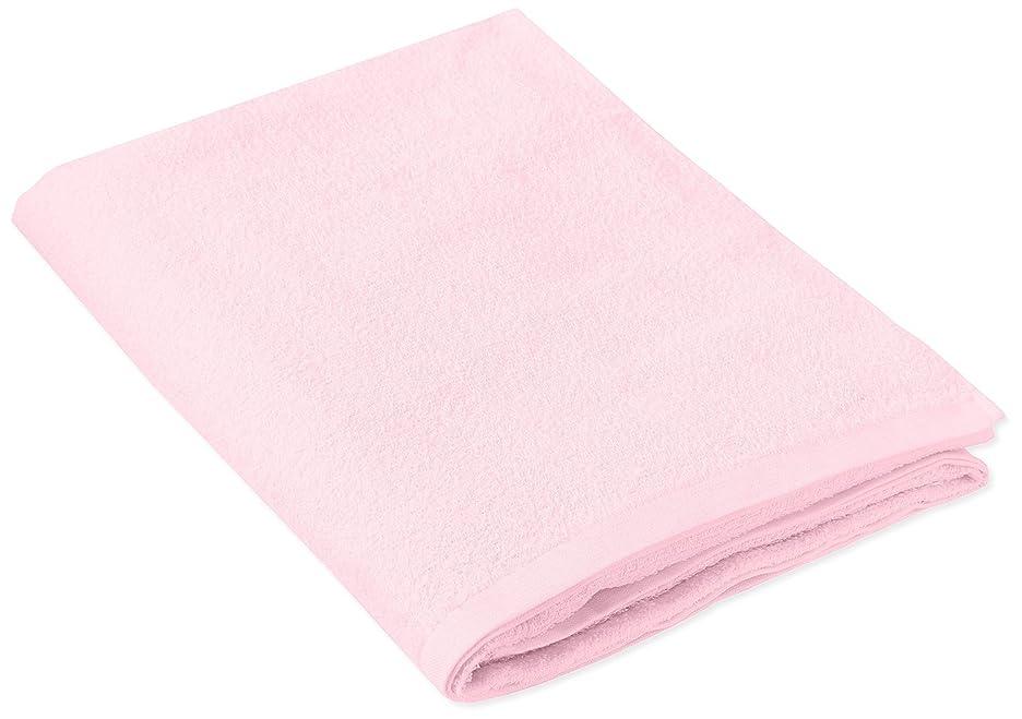 によってパスタスコットランド人キヨタ 抗菌介護タオル(大判タオル1枚入) ピンク 80×135cm
