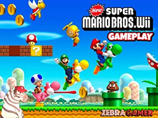 Clip: New Super Mario Bros. Wii Gameplay - Zebra Gamer
