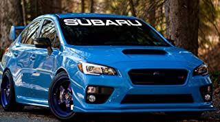 Gy Vinyl Arts,Windshield,Decal,Car,Sticker,Banner,Graphics,for Subaru,Impreza,BRZ,WRX,Sti (4.5