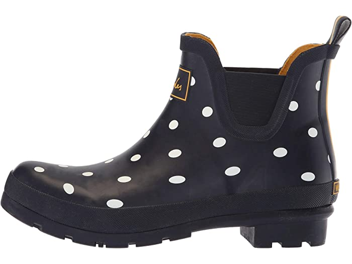 Joules Wellibob Chelsea Boot French Navy Spot Boots