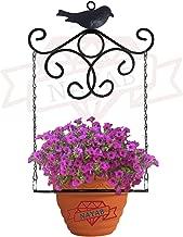 """NAYAB Vintage Floral Plant Holder Hanger Without Pot- Ring Dia - 5"""" in"""