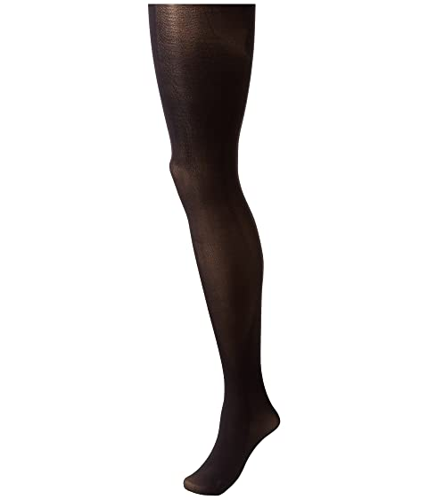 PRETTY POLLY Printed Backseam Tights, Black
