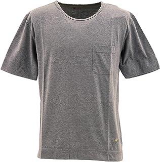 [SWEEP!! LosAngeles スウィープ ロサンゼルス] メンズ コットン ポリエステル 半袖 ポケットTシャツ 50/50POCKET SWTCPKT-11 GRAY(グレー)
