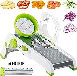 DIKO Adjustable Mandoline Slicer Vegetable Cutter
