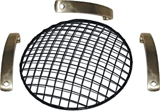 RS Vintage Parts RSV-B017BEN6MQ-01328 Motorcycle Parts A23 7'' Head LI ght Grill Black For Bsa AJS Norton Motorcycle