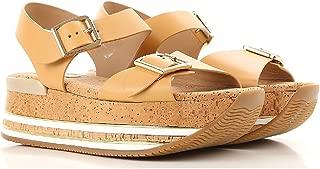 Hogan Luxury Fashion Womens HXW3540AA40D0WC611 Beige Sandals | Season Permanent