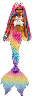 Barbie Dreamtopia Rainbow Magic Mermaid Doll with Rainbow...