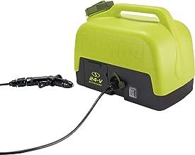 Sun Joe WA24C-LTE 24-Volt 2.0-Amp 5-Gallon Electric Pressure Washer, Green