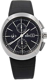 Rado D-Star Automatic Black Dial Black Leather Mens Watch R15556155