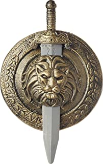 Morris Costumes Gladiator Shield Sword 18 Inch